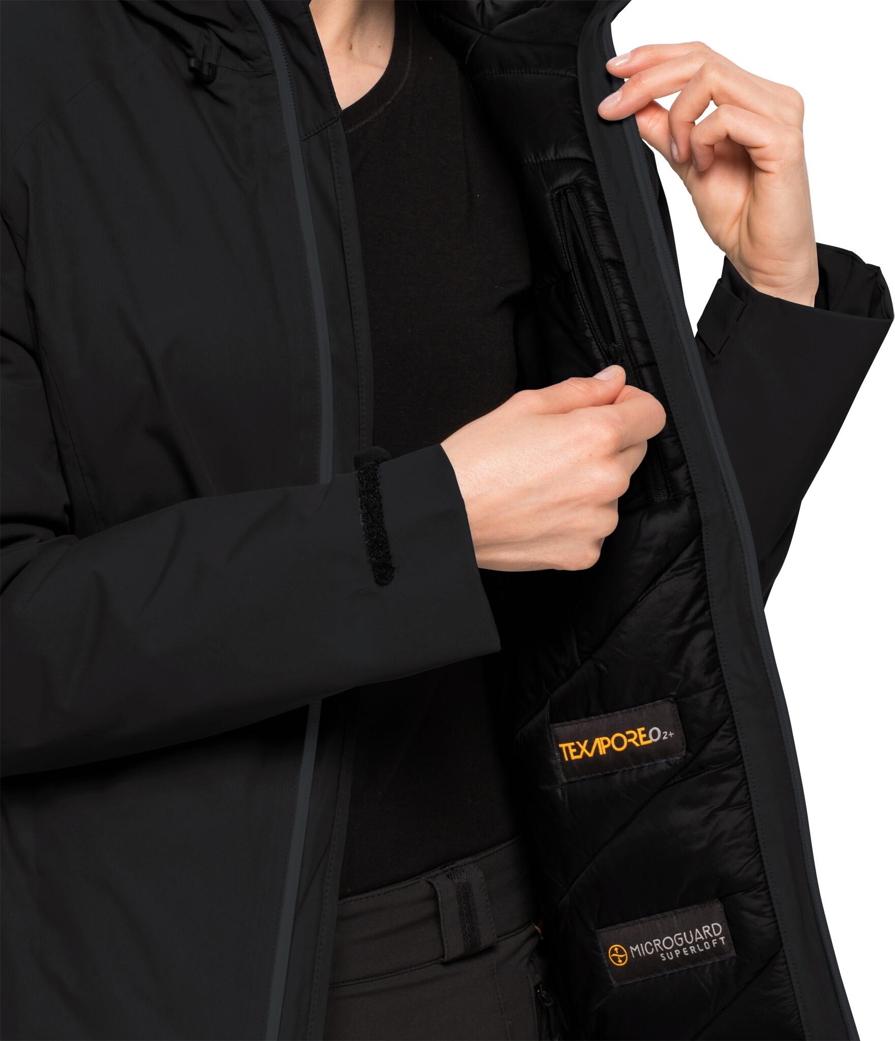 new products bffaa 62348 Jack Wolfskin Argon Storm Jacke Damen black